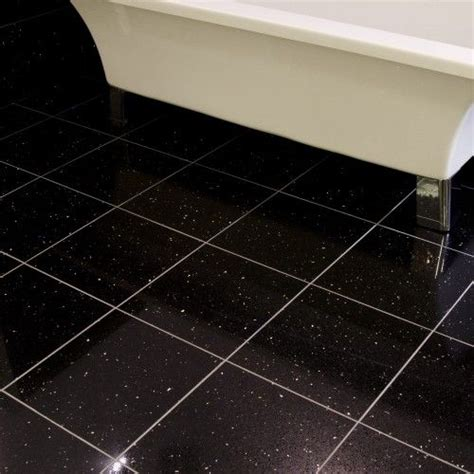 black glitter bathroom floor tiles 74 best images about black and white bathroom ideas on