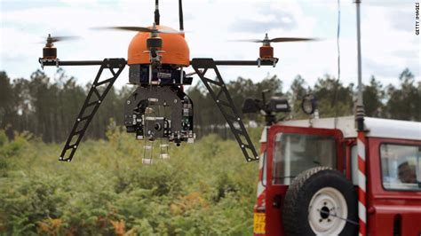 fire fighting drone fighting fire with data spacecraft drones cnn com