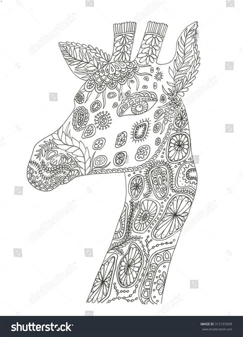abstract giraffe coloring pages abstract giraffe coloring pages