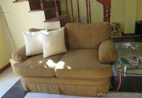 sofa bed for sale in cebu corduroy sofa set with center and corner table for sale