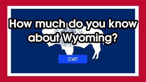 How much do you know about wyoming