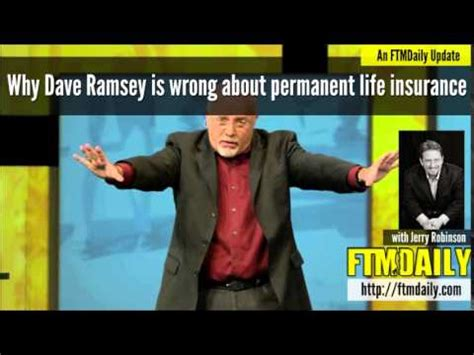 Dave Ramsey Meme - why dave ramsey is wrong about permanent life insurance