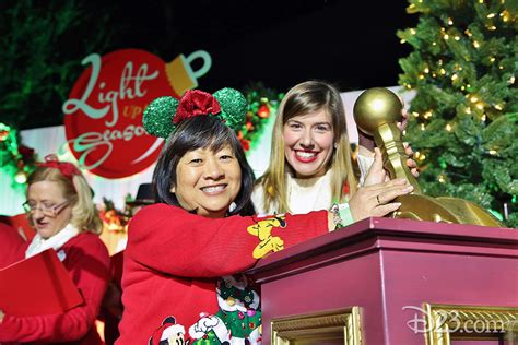 d23 light up the season d23 members light up the season for the first time on