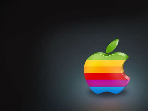 colorful wallpaper mac colorful apple logo wallpapers hd wallpapers id 7076