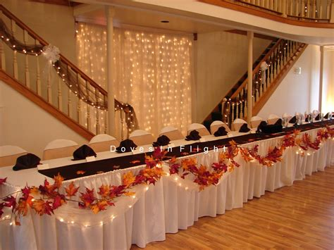 wedding table decoration ideas for fall fall table decorations favors ideas