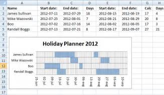 Holiday Planner Template 8 Holiday Planner Templates Excel Templates