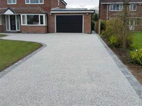 In Driveway Tarmac Block Paving Hull Resin Drives Driveways