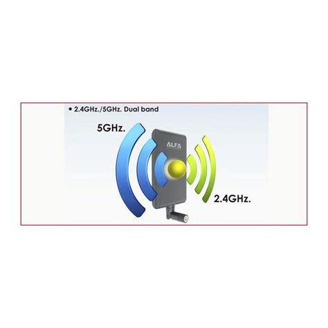 alfa network   dual band wlan antenne dbi