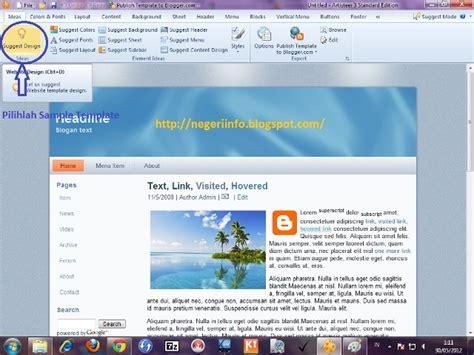tutorial membuat template blog tutorial membuat template blog dengan artisteer 3 1 blog