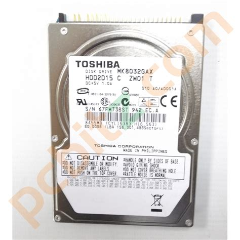 80gb Drive Laptop by Toshiba Mk8032gax 80gb Ide 2 5 Quot Laptop Drive Drives