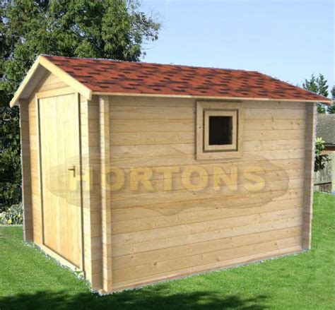 Shed Log Cabin by 8ft X 6ft Log Cabin Shed Hortons Portable Buildings