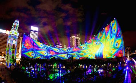 hong kong new year show rgb hong kong pulse 3d light show chinesisches neujahr