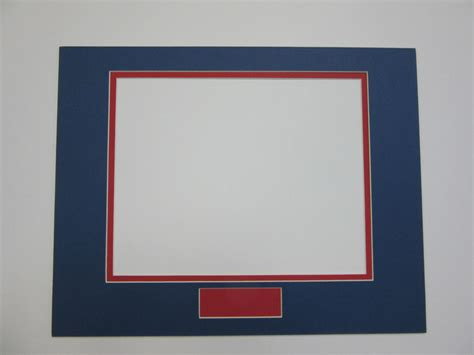 Custom Frame And Mat by Picture Frame Mats Set Of 26 Mats Custom Order Blue