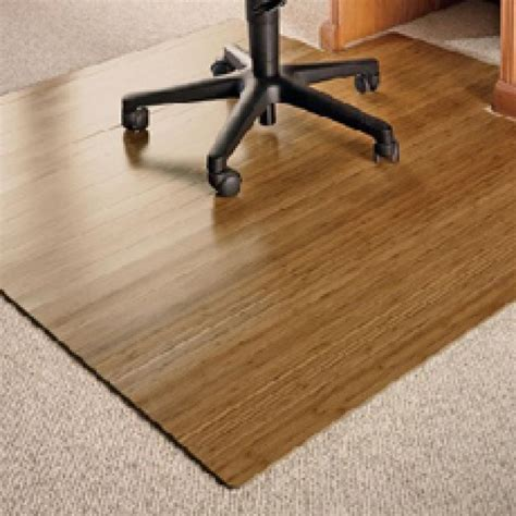 Bamboo Desk Chair Mat by Chair Mats Office Chairs And Bamboo On
