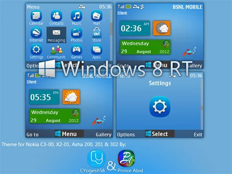themes nokia s40 320x240 windows 8 rt theme for nokia s40 320x240 by cyogesh56 on