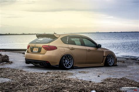stanced subaru stanced subaru impreza hatchback 187 cartuning best car