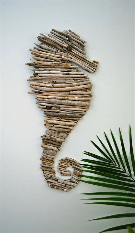 Trash To Treasure Ideas Home Decor by How To Make A Driftwood Seahorse