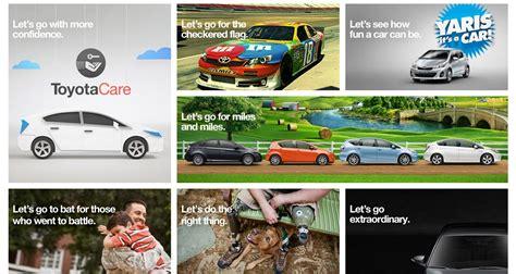 Toyota Lets Go Places Toyota Announces New Tagline Theme Let S Go Places