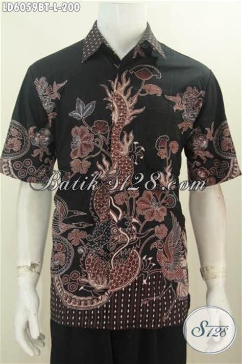 Supplier Baju Jawa Tengah jual baju batik cowok 200 ribuan pakaian batik pria muda motif naga untuk til gagah