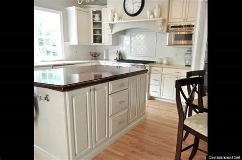 How To Paint Kitchen Cabinets How To Paint Kitchen Cabinets Huffpost