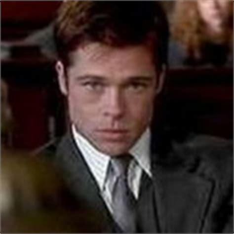 Brad Pitt Sleepers It What Did Brad Play An Attorney The Brad Pitt