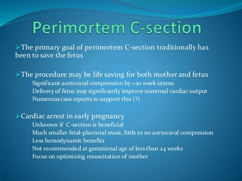 cardiac arrest during c section cardiopulmonary 20 resuscitation 20during 20pregnancy