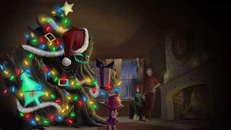 christmas tree maokai league  legends wallpapers