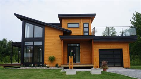 moder home timber block builds newest in contemporary home plans