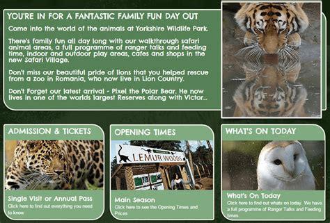 discount vouchers doncaster wildlife park valid yorkshire wildlife park vouchers local offers