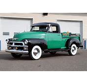 1954 CHEVROLET 3100 PICKUP  Front 3/4 151423
