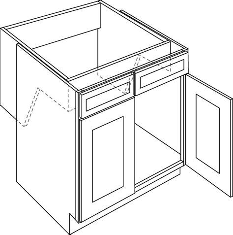 cnc cabinetry alexandria espresso kitchen cabinet sb36