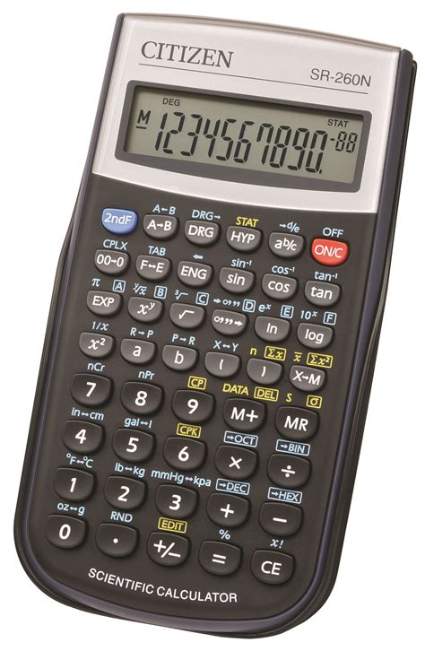 Jual Kalkulator Scientific Citizen scientific calculator citizen sr 260n 10 digit 154x80mm