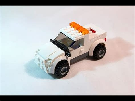 tutorial lego city lego moc tutorial lego city street service pickup truck