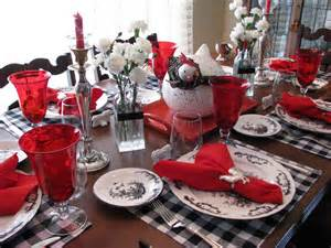 Black And Red Table Settings - creative journeys red white and black all over it s time to set the table