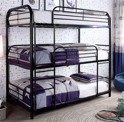 opal ii  tier bunk bed