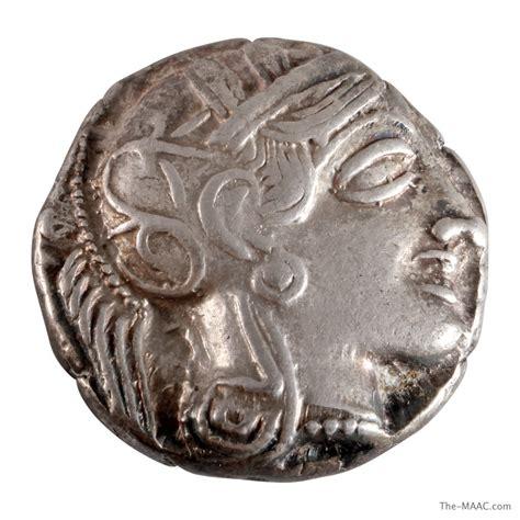 athens silver coin maac