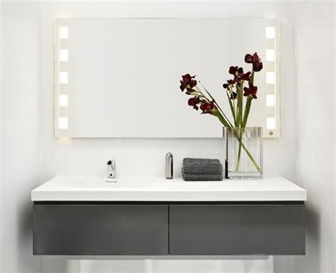 large illuminated bathroom mirror large led bathroom mirrors 28 images blackstar