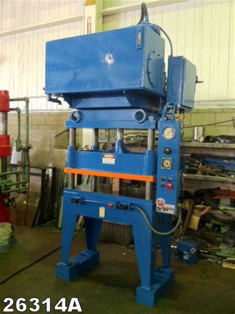 Wison Hydraulic Press 10 Ton 4 post and side press kempler industries