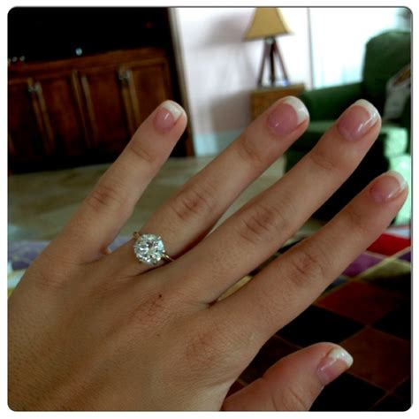 simple and engagement ring i i ve pinned a