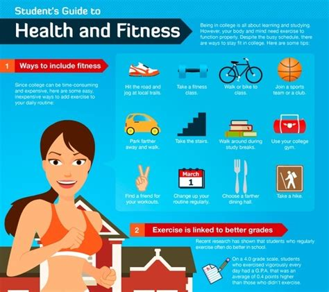 The Best Of Fit And Healthy Blogosphere by Top 5 Fitness Infographics