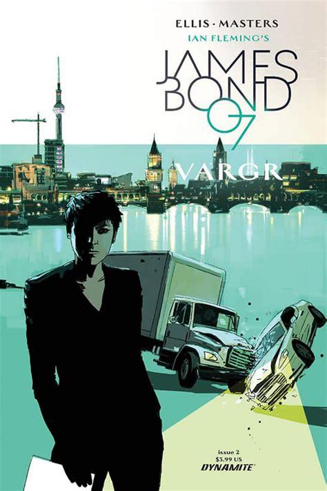 libro james bond 07 vargr james bond graphic novels