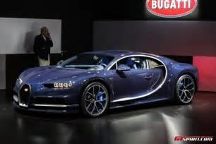 Bugatti Chiron Geneva 2017 Bleu Royal Bugatti Chiron Gtspirit