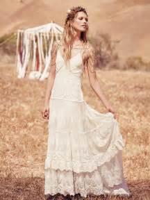 Boho bohemian chic wedding dresses for summer 2017 13