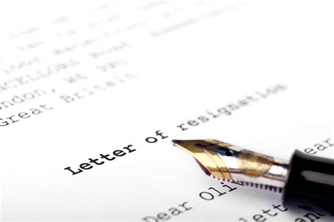 Letter Of Intent To Purchase A Laundromat Letters Of Intent To Resign For Your Employer