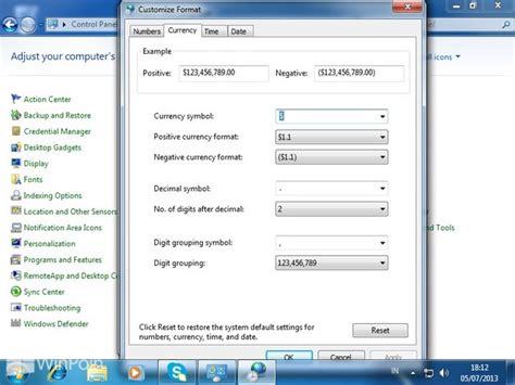 cara format ebook windows 7 cara mengganti currency format di windows 7 winpoin