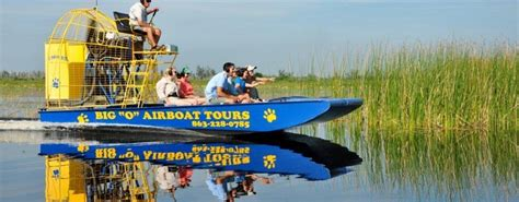 everglades fan boat tour lake okeechobee airboat tours fan interest in the everglades