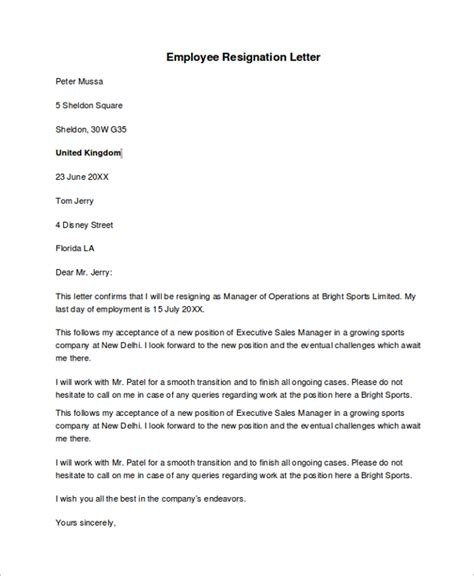 Employee Resignation Form Index Of Wp Content Uploads 2012