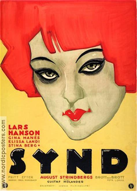 Vintage 1997 Original Hanson T synd poster 1928 lars hanson original
