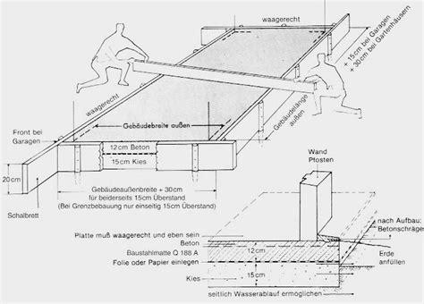 Bodenplatte Einschalen Anleitung by Selbstbau Anleitung Bodenplatten