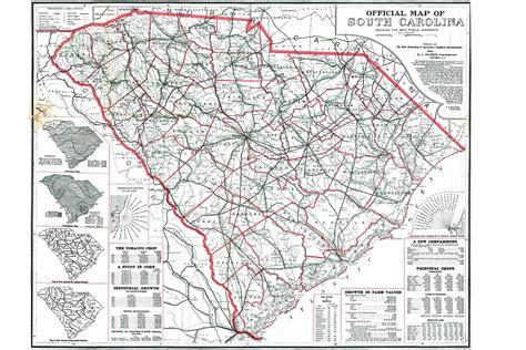 carolina road map scdot historical maps scdot 100